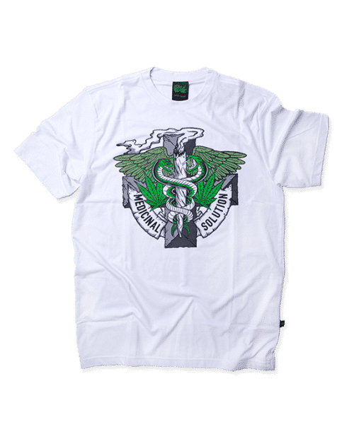 Camiseta Medicinal Solution